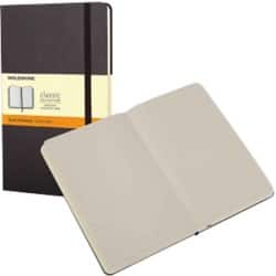 Moleskine Notebook Hard Cover A5 Ruled Black 120 sheets