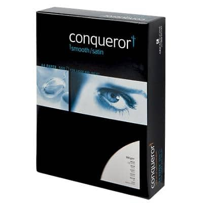 Conqueror Paper A4 100gsm Wove High White 500 Sheets