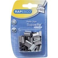 Rapesco Clips Supaclip Silver 5 Pieces