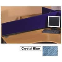 Desk Screen Blue 390 x 300 x 1,590 mm