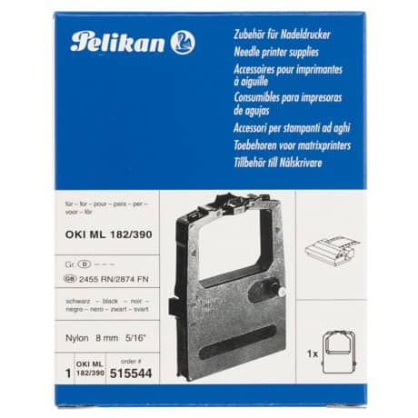 Compatible HD Re-Inking Printer Ribbon 2455RN Black