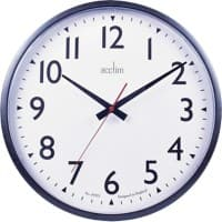 Acctim Analog Wall Clock 22463 35 x 5.6cm Black
