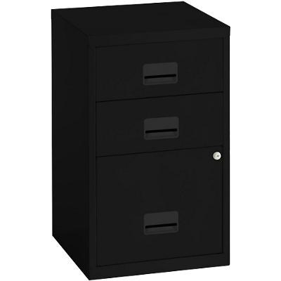 Pierre Henry Filing Cabinet Black 400 x 400 x 660 mm