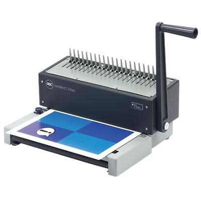 GBC CombBind C150Pro Manual Comb Binding Machine 450 Sheets