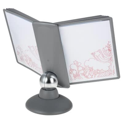 DURABLE Display Stand Sherpa Motion Silver A4 10 Sheets Plastic 33 cm