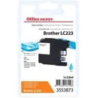 Office Depot Compatible Brother LC223C Ink Cartridge Cyan