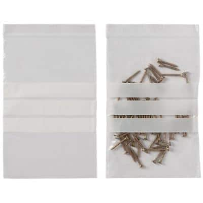 niceday Grip Seal Bag Transparent 19.1 x 12.7 cm 1000 Pieces