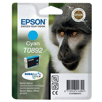 Epson T0892 Original Ink Cartridge C13T08924011 Cyan