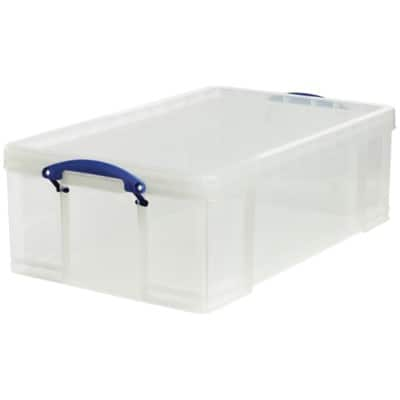 Really Useful Boxes Storage Box 50 L Transparent Plastic 23 x 71 x 44 cm