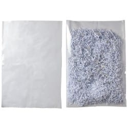 Niceday Heavy Duty Polythene Bags Clear 610 x 914 mm 100 Per Pack