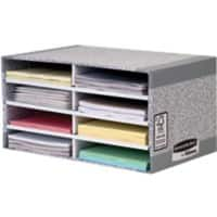 Fellowes System Desktop Sorter Grey, White 49 x 31 x 26 cm