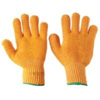 Gloves PVC Size Yellow
