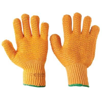 Knitted Grip Gloves