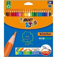 BIC Colouring Pencils Evolution Multi Pack of 24