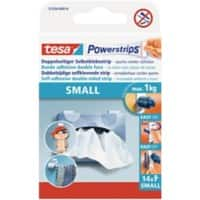 tesa Powerstrips Special Tapes Powerstrips 0.035 m White Pack of 4
