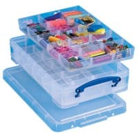 Really Useful Box Storage Box 4C2xHDIVC 4 L Transparent Plastic 39.5 x 25.5 x 8.5 cm