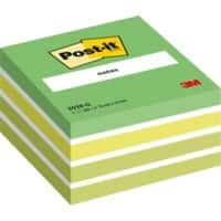 Post-it Sticky Notes Cube 76 x 76 mm Pastel Green 450 sheets