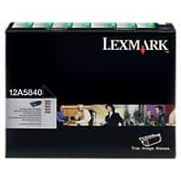 Lexmark 12A5840 Black Laser Toner Cartridge, T610612