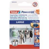 tesa Powerstrips Special Tapes Powerstrips 0.05 m White Pack of 10