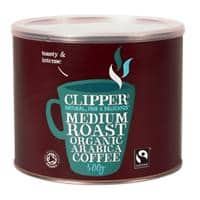 Clipper Medium Roast Organic Instant Coffee Sachets Freeze Dried 500g
