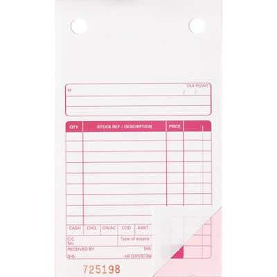 Ease-Apart Sales Receipt Forms 100 Pieces