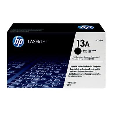HP 13A Original Toner Cartridge Q2613A Black