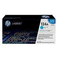 HP 124A Original Toner Cartridge Q6001A Cyan