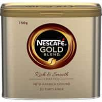 NESCAFÉ Gold Blend Rich & Smooth Instant Ground Coffee Tin 750g