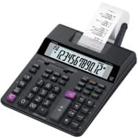 Casio Printing Calculator with Roll HR-200RCE 12 Digit Display Black