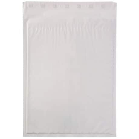 Mail Lite Tuff Mailing Bags h/5 220gsm White plain peel and seal 50 pieces