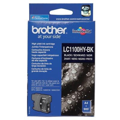 Brother LC1100HYBK Original Ink Cartridge Black