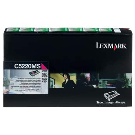 Lexmark C5220MS Original Toner Cartridge Magenta