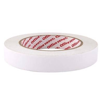 Niceday Double Sided Tape Adhesive 33 m White