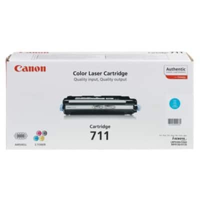 Canon 711 Original Toner Cartridge Cyan