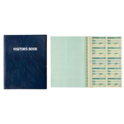 DURABLE Visitor Book Refills 1464/00 White Ruled Perforated A4 25.5 x 1.8 x 31.5 cm 10 Sheets of 10 Pieces