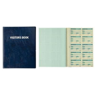 DURABLE Visitor Book Refills 1464/00 White Ruled Perforated A4 25.5 x 1.8 x 31.5 cm 10 Sheets of Pack of 10