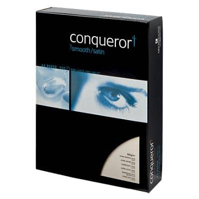 Conqueror Paper A4 100gsm Ultra Smooth Wove Cream 500 Sheets