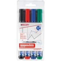 edding 360 Whiteboard Marker Medium Round Assorted Pack of 4
