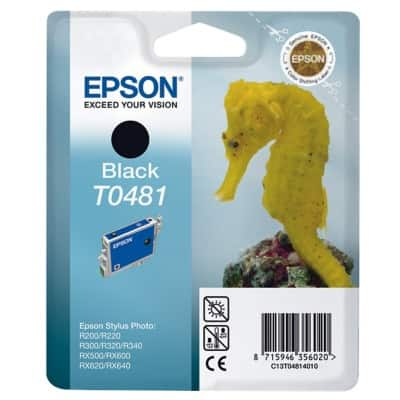 Epson T0481 Original Ink Cartridge C13T04814010 Black