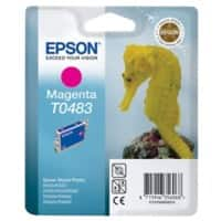 Epson T0483 Original Ink Cartridge C13T04834010 Magenta