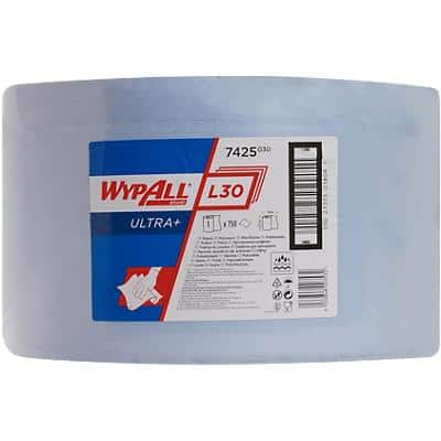 WYPALL Wiping Paper L30 3 Ply 750 Sheets