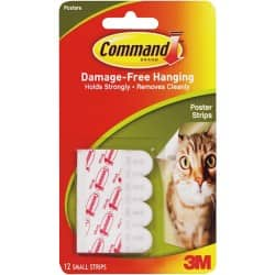 Command™ Poster Strips (12 strips)