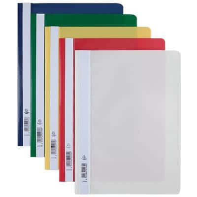 Exacompta Report File A4 Assorted Polypropylene Pack of 25