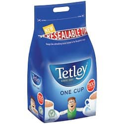 Tetley Tea Bags 1100 Pack