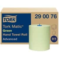 Tork Hand Towels H1 Matic Advanced Green 6 Rolls