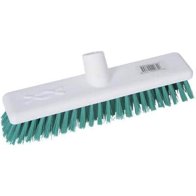 Broom Head Stiff Bristles Green