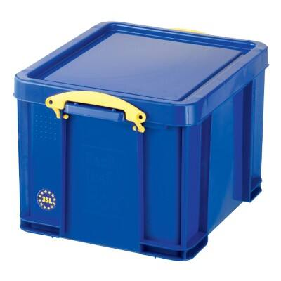 Really Useful Boxes Storage Box Blue 31 x 48 x 39 cm