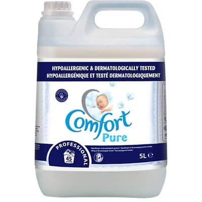 Comfort Concentrated Fabric Softener Pure Lightly Scented 5L