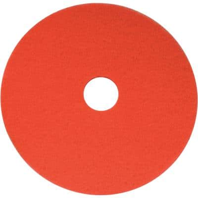 SYR Floor Maintenance Pads 38cm Red Pack of 5