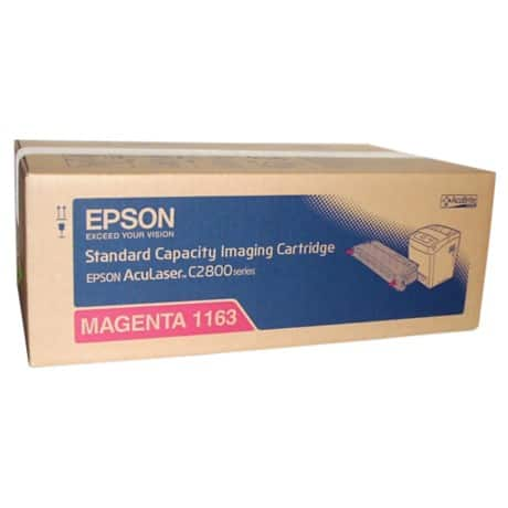 Epson 1163 Original Toner Cartridge C13S051163 Magenta